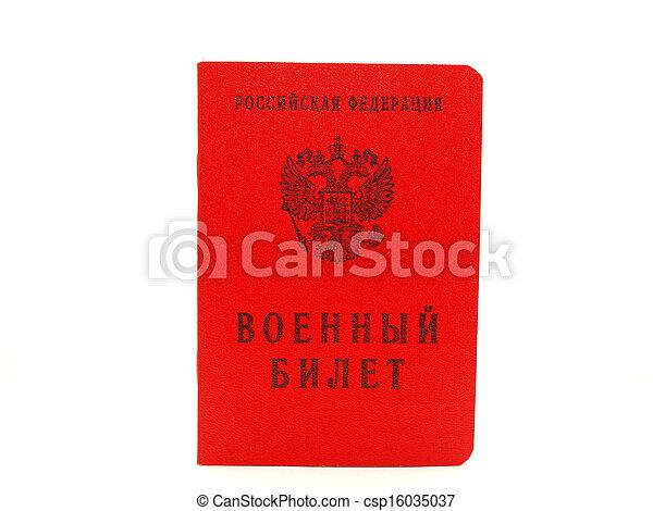 Stock foto der russische militaer ausweis halten stock bilder
