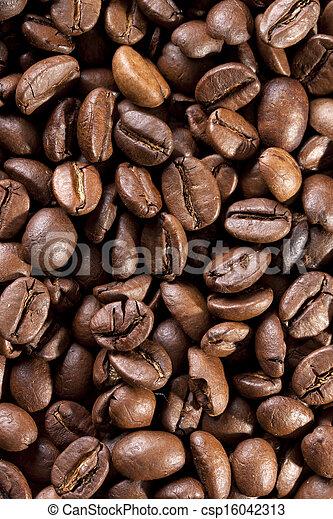 Kaffeebohnen ger?stet - csp16042313