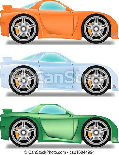 vecteur voiture roues course dessin anim grand