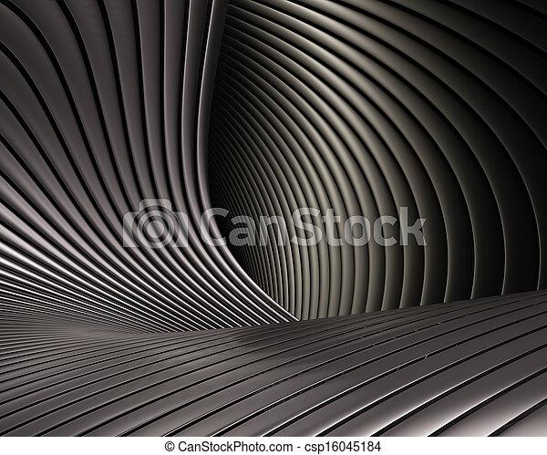 Creative brushed metal design - csp16045184