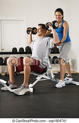 Fitness training - csp1604741