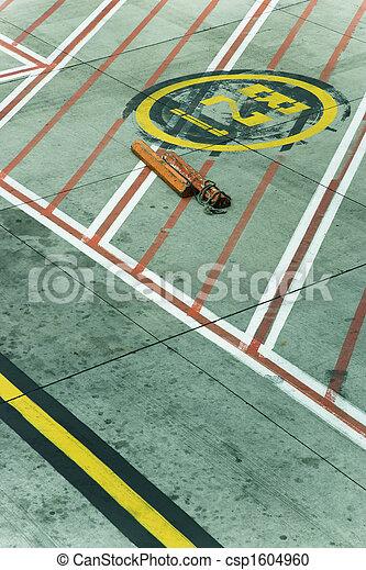 Melbourne Airport tarmac - csp1604960