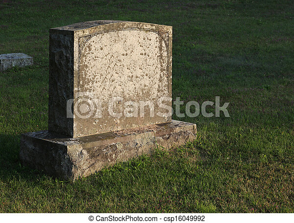 banque de photographies de sun cast pierre tombale a grand pierre tombale csp16049992. Black Bedroom Furniture Sets. Home Design Ideas