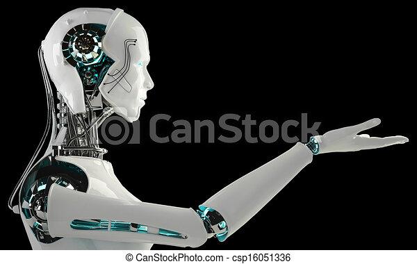 robot android men - csp16051336