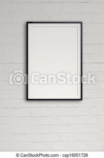 Stock fotos de vac o moderno estilo marco composici n - Composicion marcos pared ...