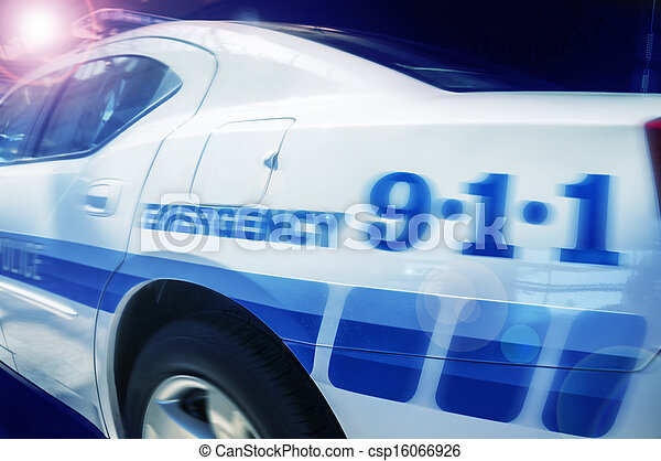Emergency response police car - csp16066926