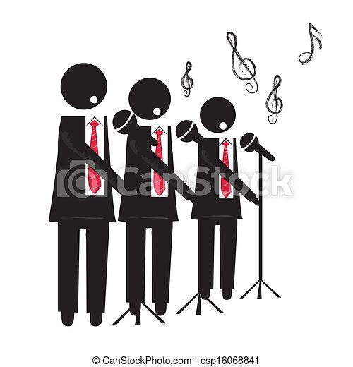 choir - stock i... Clip Art Fix My Choir