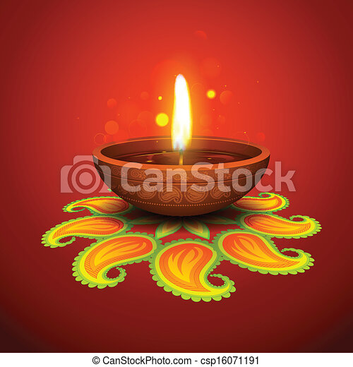 Diwali Holiday background - csp16071191