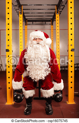 Santa Claus condition training - csp16075745
