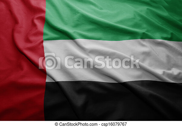 Flag of United Arab Emirates - csp16079767