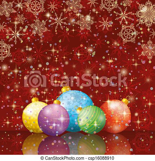 Christmas holiday background - csp16088910