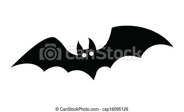 Vector Illustraie Van Vliegen Vleermuis Silhouette