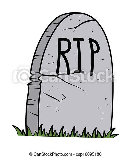 Vecteur de retro halloween pierre tombale vecteur - Pierre tombale halloween ...