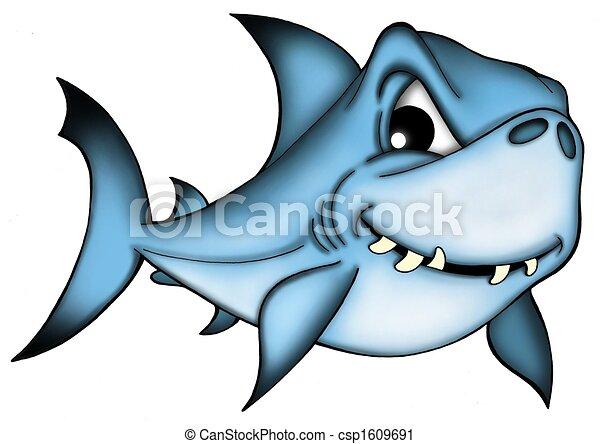 Clipart di squalo bianco fondo squalo su bianco for Squalo bianco da colorare