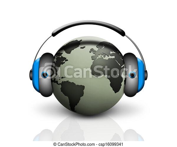 world music - csp16099341