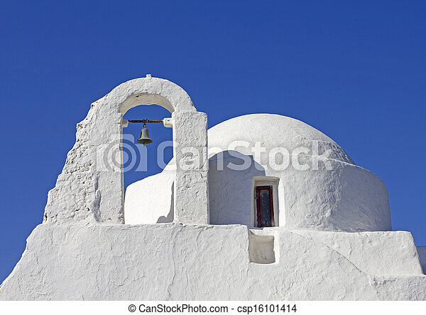 mykonos church - csp16101414