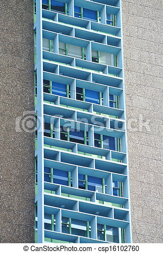 Cool building pattern