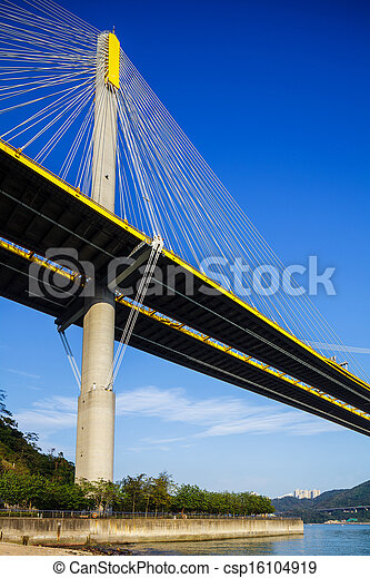 Photographies de pont hong kong ting kau suspension ting kau csp1 - Pont des arts hong kong ...