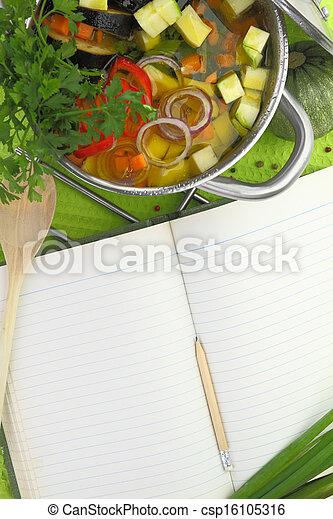 Photo vide recette livre l gume soupe cuisine for Livre cuisine legumes