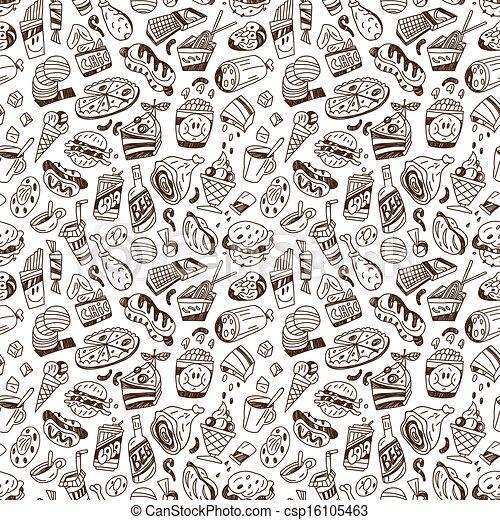 Draw Fast Food