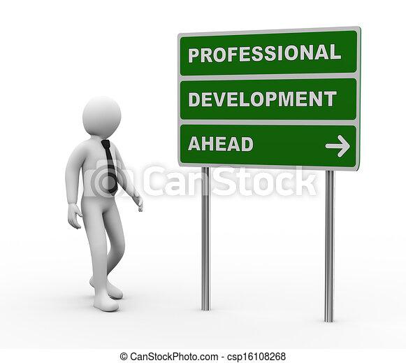 Stock illustration of 3d businessman professional for Home design 3d professional italiano gratis