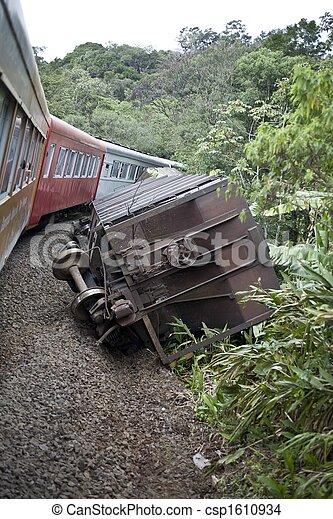 Train Wreck - csp1610934