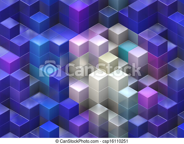 Colorful cubes  - csp16110251