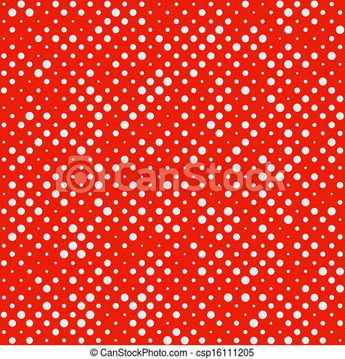 Seamless Polka dot pattern - csp16111205