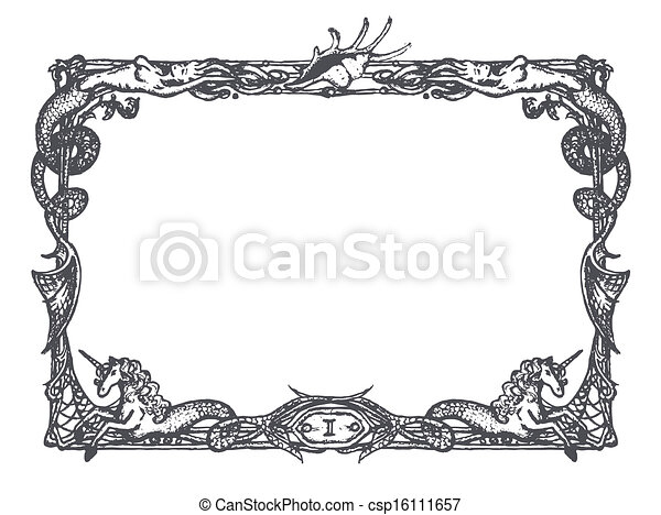 Old Fashioned Clipart Free Borders