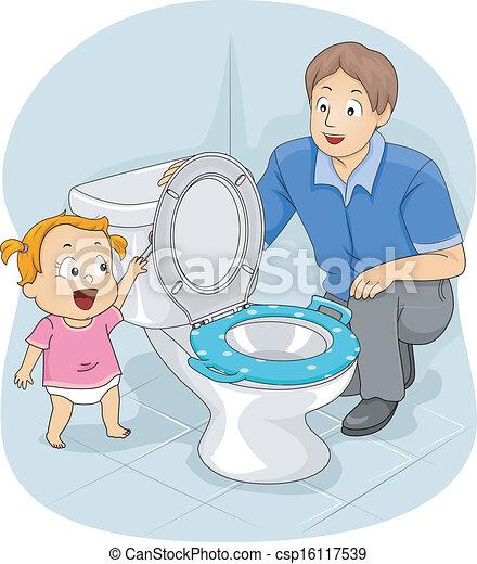 Potty Training - csp16117539