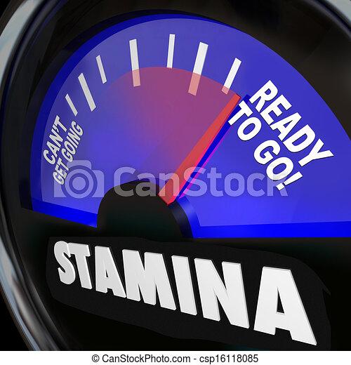 Stamina Fuel Gauge Drive Power Energy Increase - csp16118085