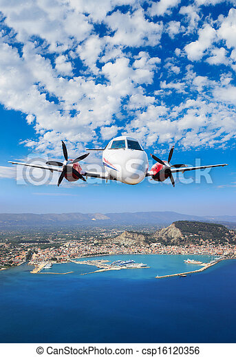 Aerial view on Zakynthos - csp16120356
