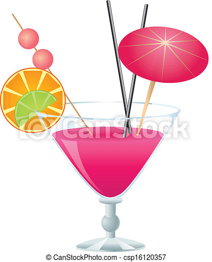 Clip Art Cocktail Clip Art cocktail illustrations and clip art 44489 royalty free pink tropical with small umbrella