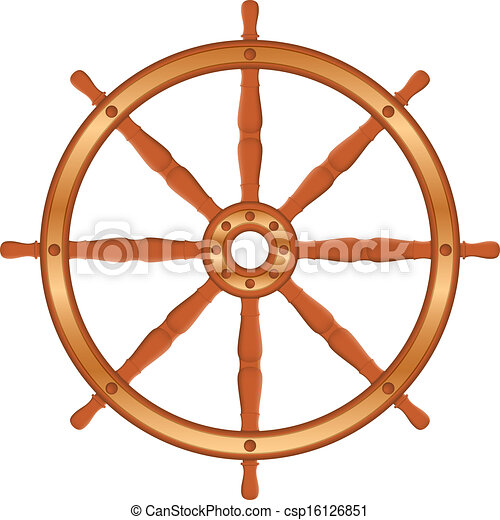 Free Clip Art Ship Wheel