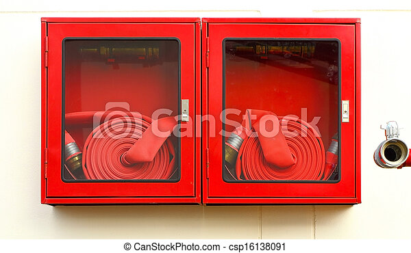Emergency Red Boxes - csp16138091