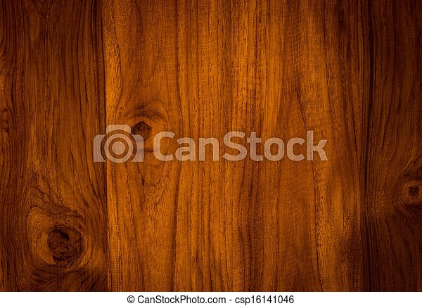 nature  pattern of teak wood decorative furniture surface - csp16141046