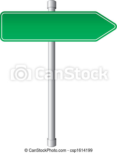 Direction sign - csp1614199