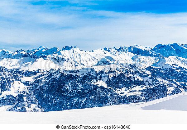 Landscape of Mountain - csp16143640