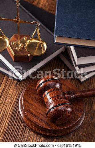 Law concept - csp16151915