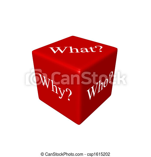3D dice (What? Why? Who? - csp1615202