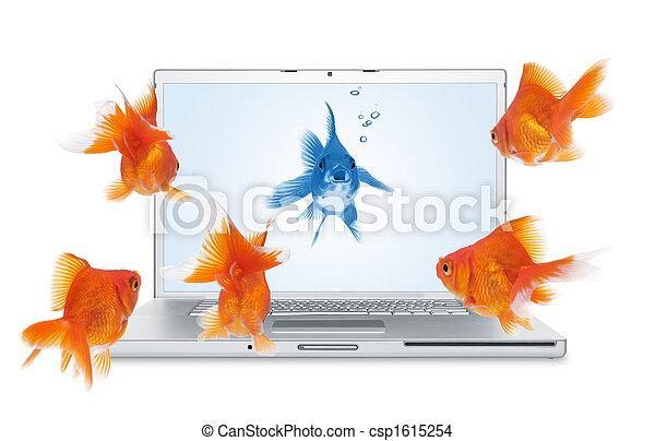 コミュニケーション, オンラインで - csp1615254