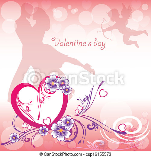 Background Valentine's Day - csp16155573