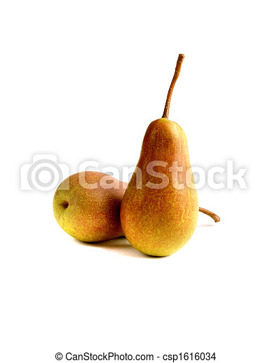 Appetizing pears - csp1616034