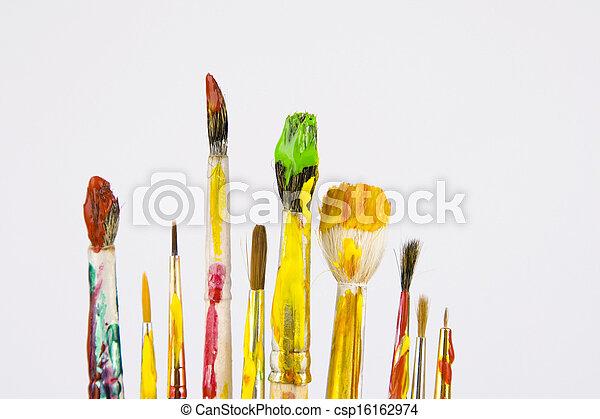 Art brush for drawing - csp16162974