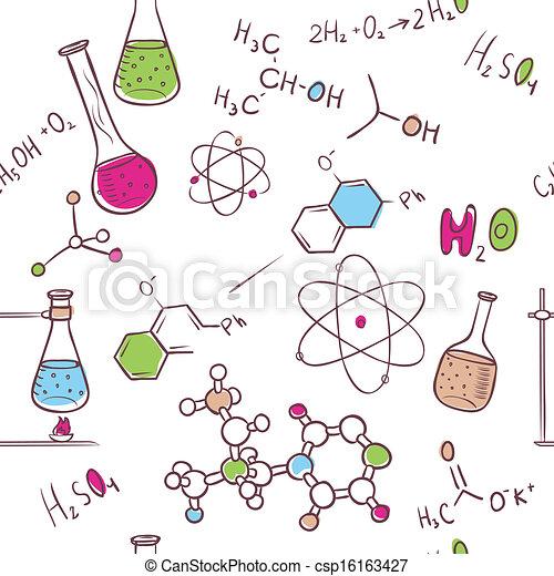 Organic Chemistry Clip Art Chemistry Pattern Clip Art