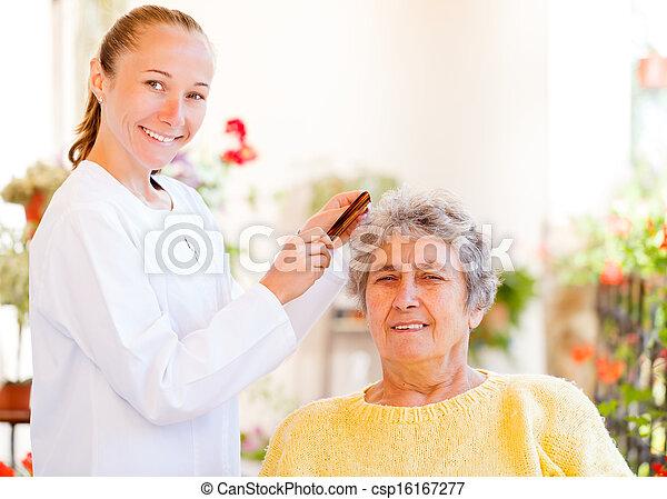 Elderly home care - csp16167277