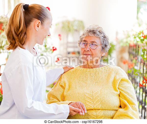 Elderly home care - csp16167298