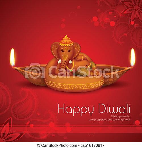 Diwali Holiday background - csp16170917