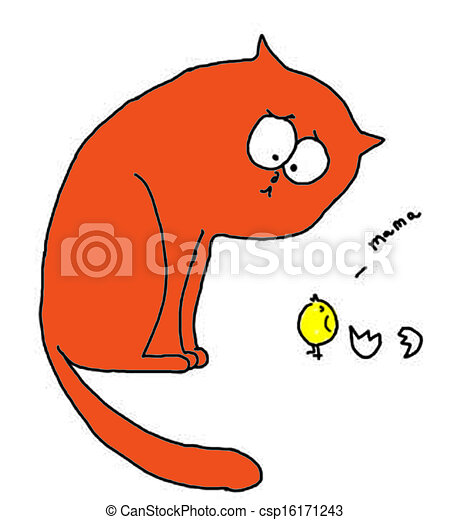 Drawing of Curi... Curious Cat Clipart