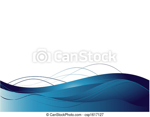 Background with abstract smooth lines - csp1617127